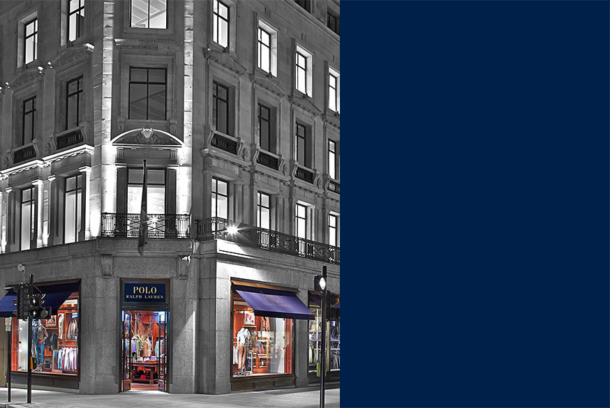 Illustration of the Polo flagship store in London